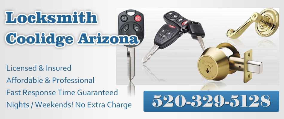 locksmith coolidge arizona banner